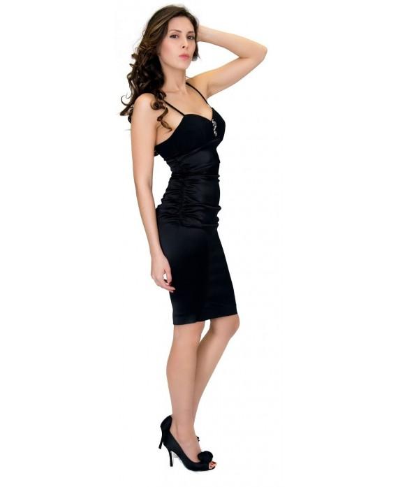 wholesale dealer 49883 68f98 Noleggio Abito Cavalli Class, Elegante Abito Tubino nero Cavalli Class a  Noleggio, Lovedress