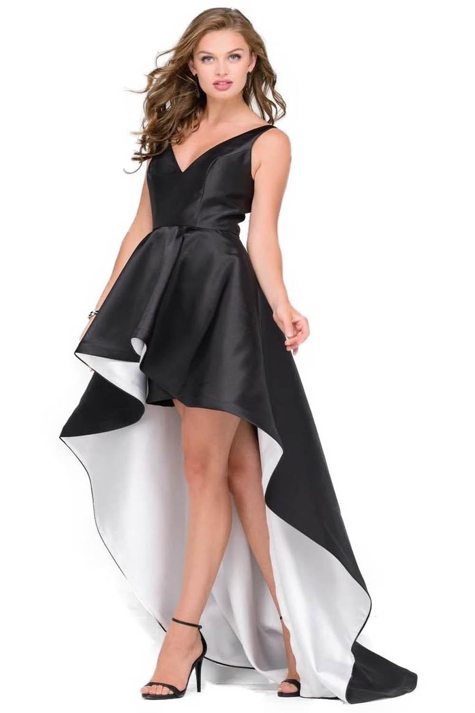 abbastanza abito bianco e nero Jovani - Lovedress IJ51