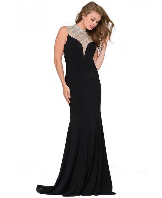JOVANI abito lungo nero